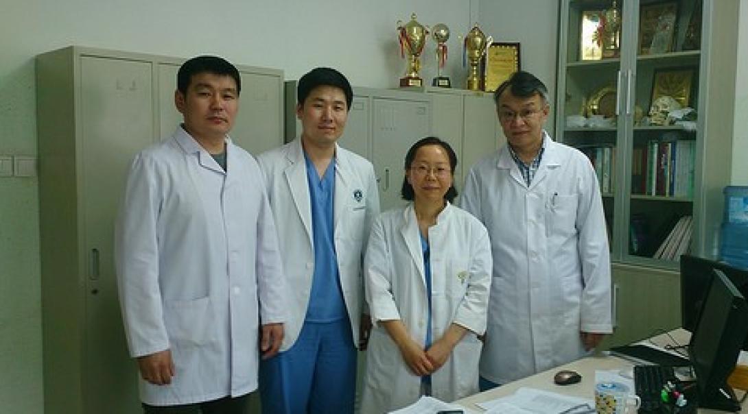 モンゴルで医療(歯科) 原口美幸